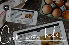 Voice-Controlled Cooking Apps - In The Kitchen's 'Cook with Me' Feature Activates Voice Commands