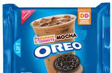 Coffee Beverage Cookies - The Oreo Dunkin' Donuts Mocha Cookies are a Limited Edition Creation