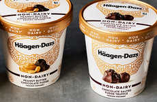 Artisanal Vegan Ice Creams - The Häagen-Dazs Non-Dairy Ice Creams Feature Four New Flavors