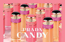 Sorbet-Inspired Designer Fragrances - Prada's Candy Gloss Scent Features Sweet and Musky Notes