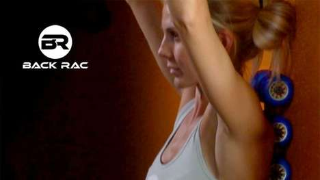 Rolling Back Massaging Tools - The Back Rac Alleviates Pain and Improves Posture