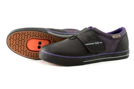 The DZR Purp Shoes Feature a Slip-On Feel and Deep Purple Hues