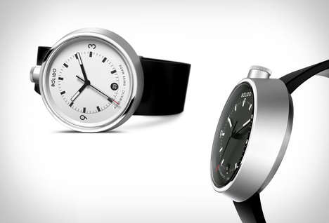 Self-Winding Mechanical Timepieces - The Bólido Watch Boasts an Unorthodox Casing Design