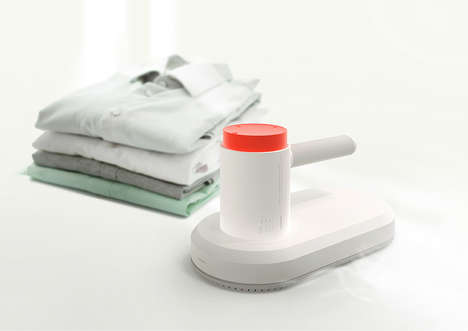 Quick-Cooling Clothes Irons