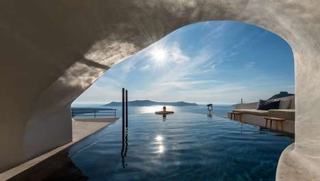 Sun-Soaked Oceanside Suites - The Redesigned Porto Fira Suites are Inspired by Monastic Simplicity