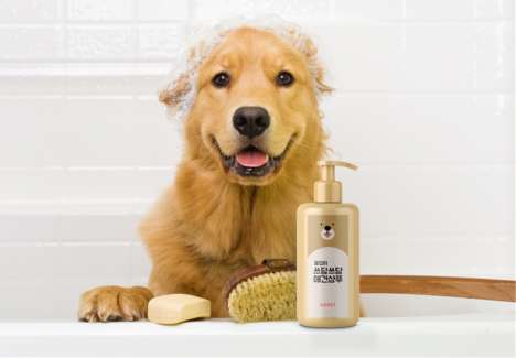 Waterless Pet Shampoos - 'PATPET' Shampoo for Dogs Simplifies the Pet-Cleansing Experience