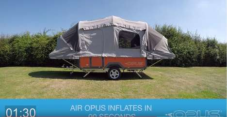 Inflatable Camper Trailers