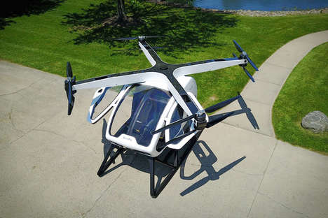 Personal Commuter Helicopters - The Workhorse Surefly Urban Helicopter Simplifies Morning Commutes