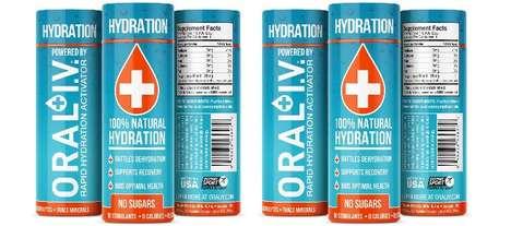 Supercharged Hydration Shots