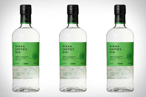 Japanese Botanical Gins - Nikka's Coffey Gin is the First White Spirit From the Whiskey Brand