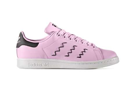 Zigzag-Branded Sneakers