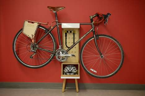 Free-Standing Bike Storage