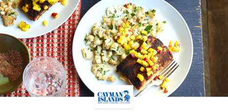 Tourism-Focused Meal Kits - The Cayman Islands Department of Tourism Now Has Meal Kits on Chef'd