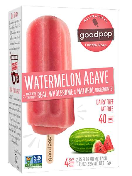 Agave-Sweetened Popsicles