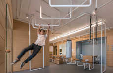 Fitness-Focused Workspaces - This Bangkok Office Features Exercise-Friendly Elements and Equipment