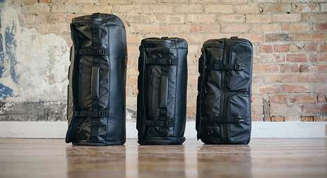 Segmented Travel Bags - The HEXAD Duffel Bags Offer Organization and Versatility for Travelers