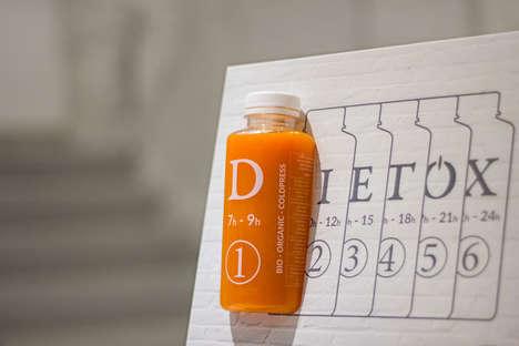 Numbered Organic Juice Detoxes