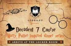 Wizard-Themed Dinner Series - The Library in Covent Garden is Hosting a Harry Potter Dinner Series