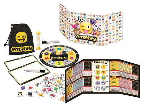 Emoji-Based Board Games - The 'Emotify' Board Game Challenges Users to Communicate in Emojis