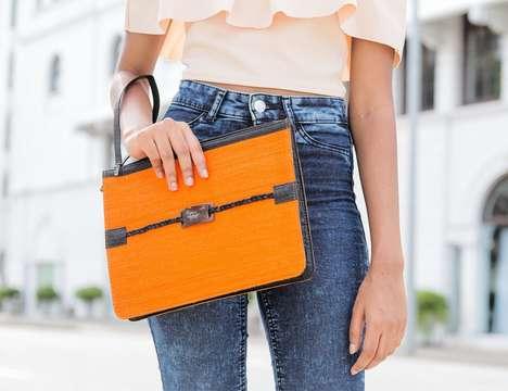Woven Coconut Shell Handbags