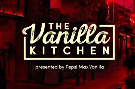 Soda Brand Dining Pop-Ups - The Vanilla Kitchen is a Pop-Up Dining Experience from Pepsi