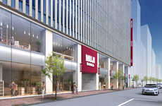 Japanese Homeware Retailer Hotels - The Ginza MUJI Hotel will Start Welcoming Guests in Spring 2018