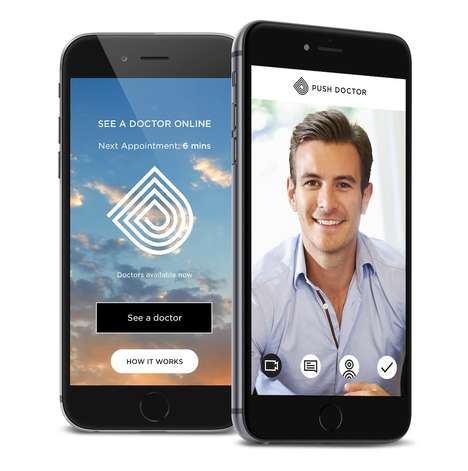 Virtual Appointment Apps - The 'Push Doctor' App Lets Users Schedule Virtual Doctor Visits