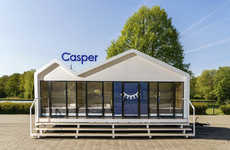 Mobile Nap Trailers - Casper's UK Sleep Tour Introduces a 'Sleepmobile' on Wheels