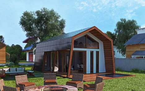 DIY Prefab Cabin Homes - The Ecokit Prefabricated Cabins Can be Erected without Professional Help