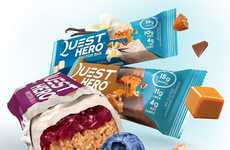 Dessert-Inspired Protein Bars - The New Quest Hero Protein Bars Contain Just 200 Calories Each