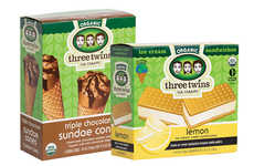 Planet-Supporting Ice Creams - These New Three Twins Ice Cream Treats Give Back to the Planet
