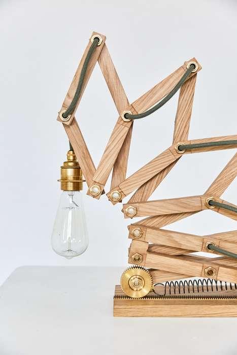 Jacob's Ladder Lamps