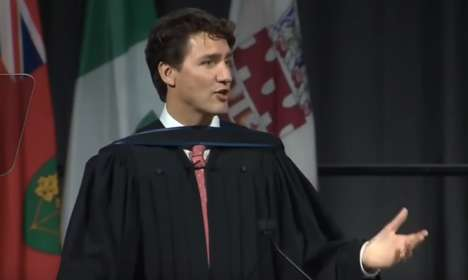 Prime Minister Commencement Speeches - Justin Trudeau's Commencement Speech Took Place in Ottawa