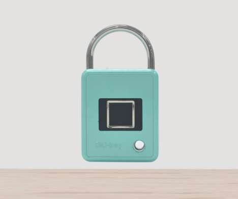 Biometric Luggage Locks