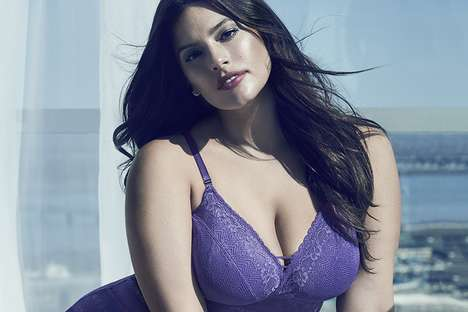 Inclusive Celebrity Lingerie Ranges - The New Addition Elle Line Was Made with Model Ashley Graham
