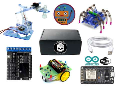 Tech-Themed Maker Kits - Hackerboxes Offers Nerdy DIY Subscription Boxes for Tech Buffs