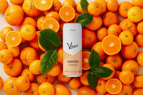 On-the-Go Vodka Cocktails - Vrai is a Collection of Refreshing, Vodka-Based Beverages
