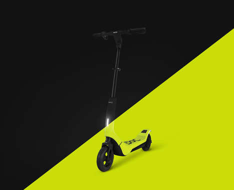 Sensor-Packed Electric Scooters