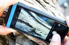 Macro Photography Smartphone Bands - The 'Easy-Macro' Macro Photography Lens Slips onto Your Device