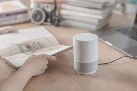 AI-Powered Speakers - The Alibaba Tmall Genie X1 is a Small-Scale Smart Speaker for the Home