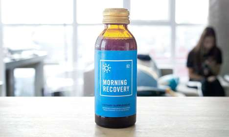 Revitalizing Hangover Cures - 'Morning Recovery' is Based on a South Korean Hangover Cure