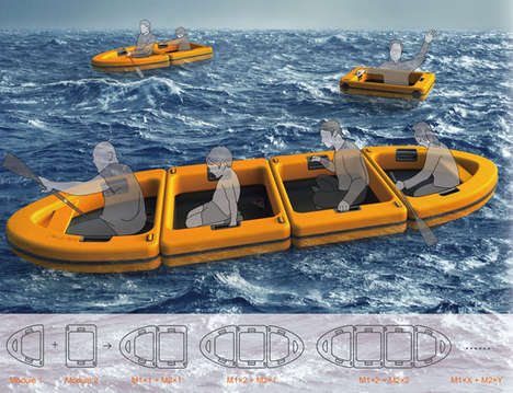 Modular Lifeboat Designs