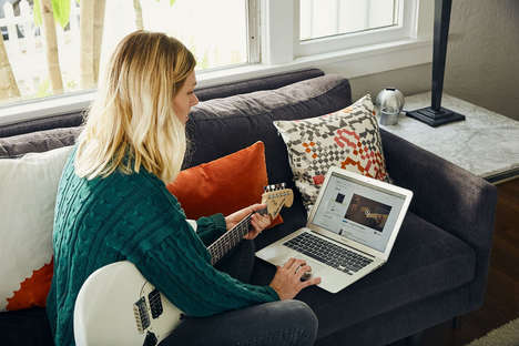App-Connected Guitar Lessons - Fender Play's Gamified Online Guitar Lessons are Quit-Proof