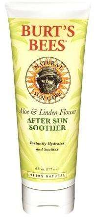 Soothing After-Sun Creams - Burt's Bees After Sun Soother is Able to Calm Irritated Skin