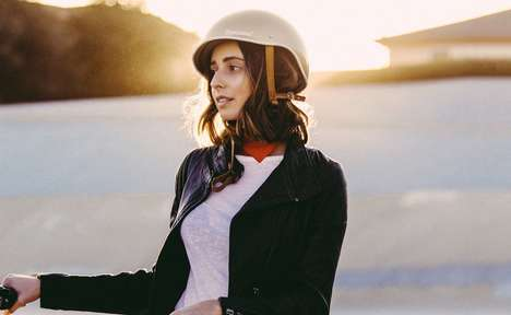 Fashionable Designer Cyclist Helmets