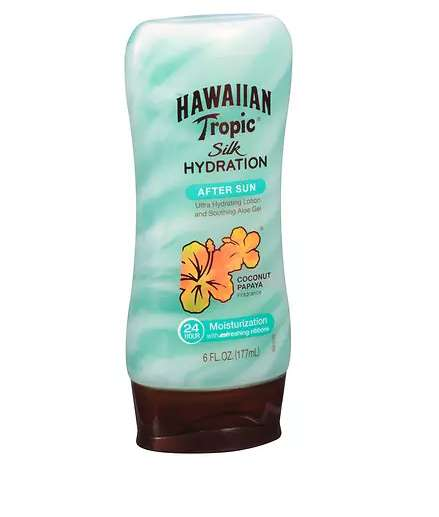 Papaya-Based After Sun Lotions - The Hawaiian Tropic Brand Offers a Lotion for Irritated Skin