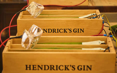 Cucumber-Based Instruments - Hendrick's Gin is Inviting Consumers to Make Music with Vegetables