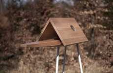 Freestanding Observational Birdhouses