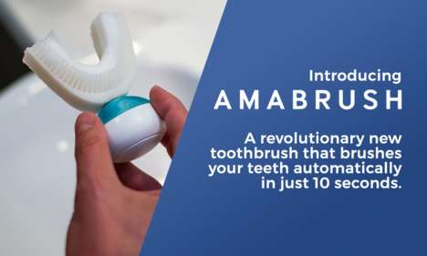 Tooth-Cleansing Mouthpieces