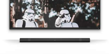 Simplified High Quality Soundbars - The Airo Provides Movie Theater Quality in Consumers' Homes